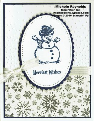 Christmas magic snowman wishes watermark