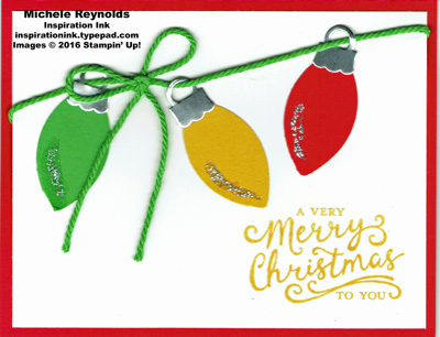 Reason for the season christmas lights watermark