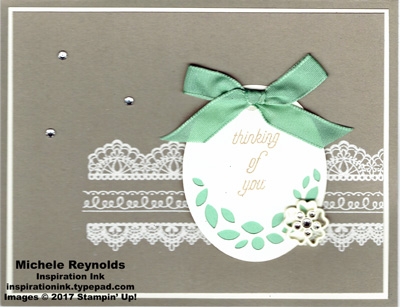That's the tag thinking of you with lace watermark
