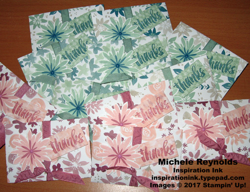 Flower patch candy envelopes