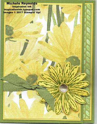 Daisy delight trifold daisy watermark