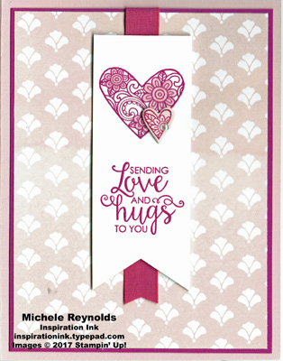 Ribbon of courage love and hugs swap watermark