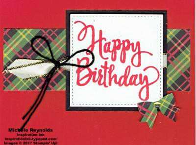 Stylized birthday christmas around the world strip watermark