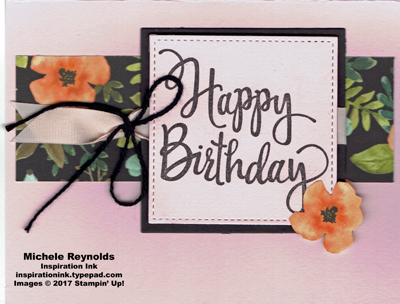 Stylized birthday whole lot of lovely strip watermark