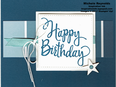 Stylized birthday color theory strip watermark