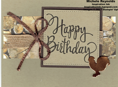 Stylized birthday wood textures strip watermark