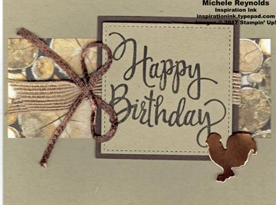 Stylized birthday wood textures strip watermark