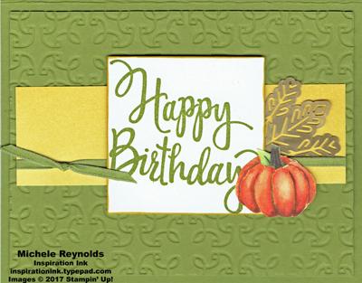 Stylized birthday pumpkin scribbles watermark