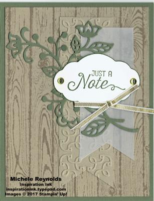 Flourishing phrases note vine banners watermark