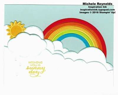 Sunshine & rainbows sunny day rainbow watermark