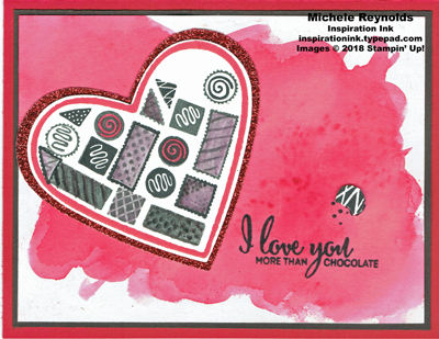 More than chocolate open candy box watermark