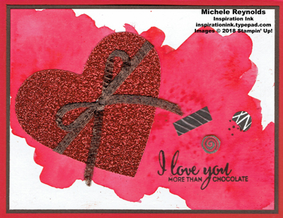 More than chocolate brusho heart box watermark