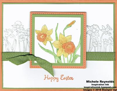 You're inspiring framed daffodils watermark