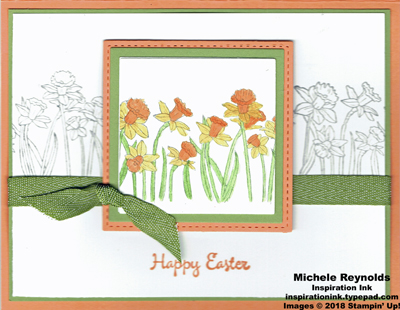 You're inspiring framed daffodils 2 watermark
