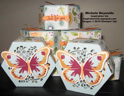 Watercolor wings window candy boxes watermark