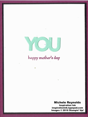 Mother's day card inside watermark