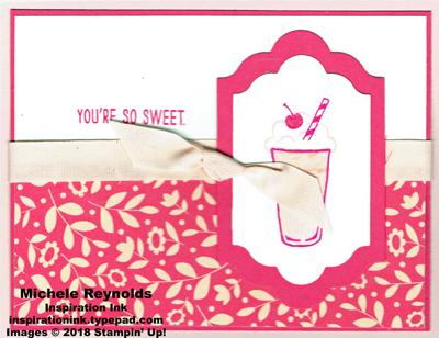 Mixed drinks sweet strawberry shake watermark