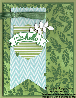 Badges & banners leafy hello watermark