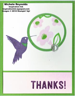 You move me hummingbird circle flowers watermark