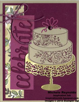 Cake soiree celebrate blackberry cake watermark