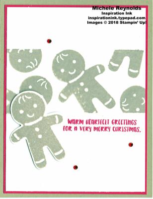 Cookie cutter christmas masked gingerbread men watermark