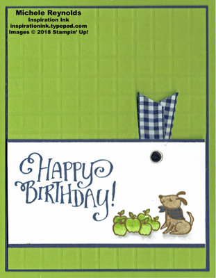 Bike ride plaid puppy birthday watermark