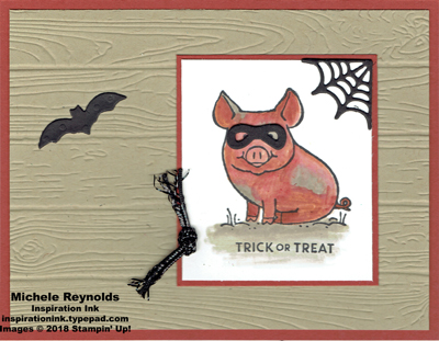 This little piggy trick or treating pig watermark