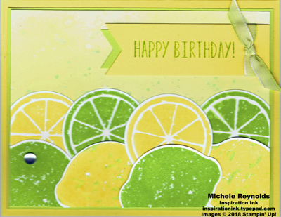 Lemon zest layered lemons birthday swap watermark