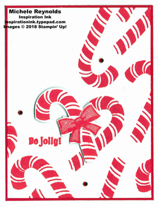 Candy cane season falling candy canes watermark
