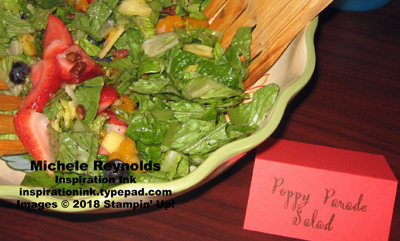Make a difference poppy parade salad