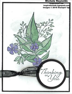 Wonderful romance shimmery flower bouquet watermark