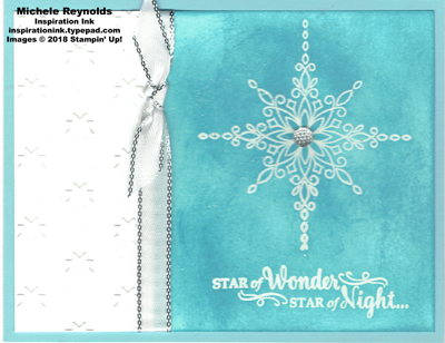 Star of light balmy star watermark