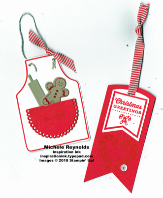 Tags & tidings food gift tags watermark