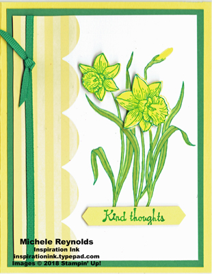 You're inspiring bright daffodil thoughts watermark