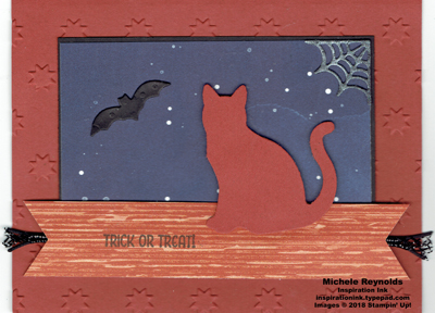 Seasonal chums night sky cat watermark