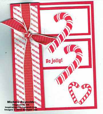 Candy cane season accordion fold closed watermark