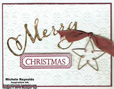 Merry christmas to all copper star watermark
