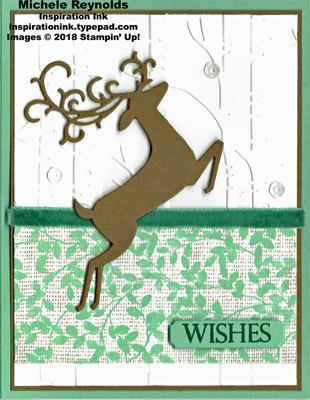 Merry christmas to all leaping deer wishes swap watermark
