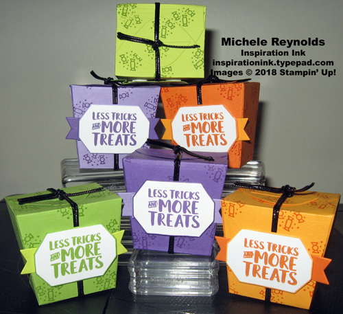 Takeout treats more treats boxes