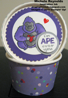 Hey love ape sweet treat cup