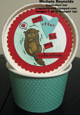 Hey love otter sweet treat cup