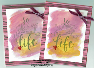 Amazing life watercolored happiness watermark
