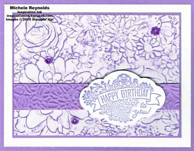 Label me pretty heather birthday flowers watermark