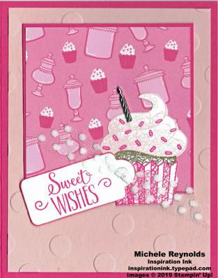 Hello cupcake how sweet wishes watermark
