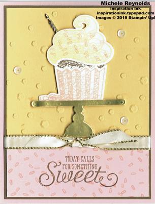 Hello cupcake sweet cupcake on stand watermark