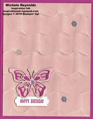 Itty bitty greetings birthday butterfly watermark