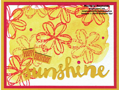 Sunshine sayings brusho sunshine watermark