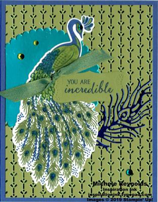 Royal peacock incredible shine peacock watermark