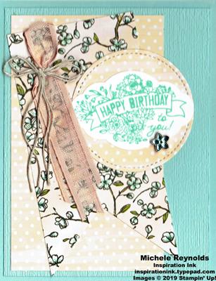 Label me pretty blue flowers birthday watermark