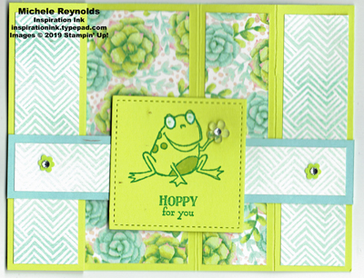 So hoppy together bridge fold frog closed watermark